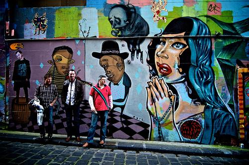 Hosier Laneway murals, Melbourne, flickr, ultrakml