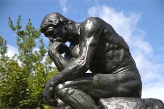 """Rodin's """"The Thinker"""" - Flickr Steven Fettig"""