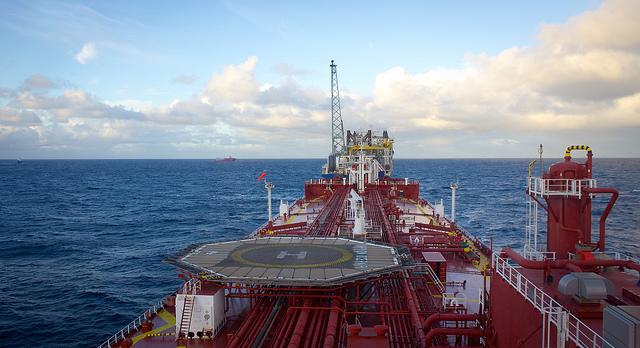 Oil Tanker, by Jon Olav Elkenes, cc.